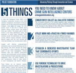 Image for 5 Things You Need to Know About Crime Gun Intelligence Centers