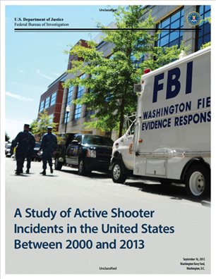 Image for A Study of Active Shooter Incidents in the United States Between 2000 and 2013
