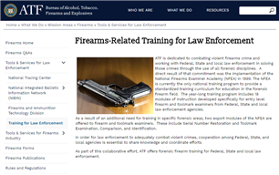 Image for Basic Firearm Violations and Investigations