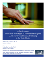Image for After Rescue: Evaluation of Strategies to Stabilize and Integrate Adult Survivors of Human Trafficking to the United States
