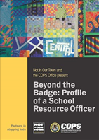 Image for Beyond the Badge: Profile of a School Resource Officer DVD
