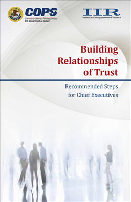 Image for Building Relationships of Trust: Recommended Steps for Chief Executives