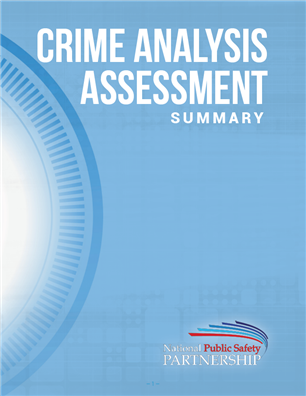 PSP Crime Analysis Assessment Summary Report cover page