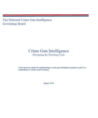 Image for Crime Gun Intelligence: Disrupting the Shooting Cycle