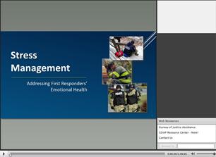Image for COAP Webinar: Stress Management - Addressing First Responders' Emotional Health