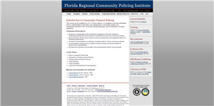 Image for Introduction to Community Policing and Problem Solving