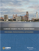 Image for Camden County Police Department: Crime Analysis, Technical Assistance, and Consultation