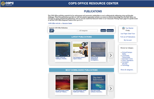 Image for COPS Office Resource Center