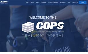 Image for COPS Online Training Portal