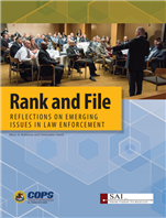 Image for Rank and File: Reflections on Emerging Issues in Law Enforcement