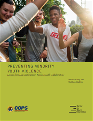 Image for Preventing Minority Youth Violence: Lessons from Law Enforcement—Public Health Collaborations