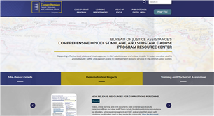 Image for Comprehensive Opioid, Stimulant, and Substance Abuse Program