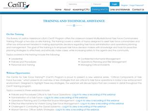 Image for Center for Task Force Training (CenTF) Program