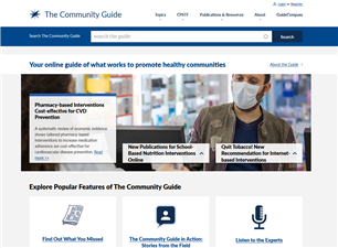 Image for Guide to Community Preventive Services (The Community Guide)