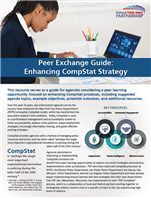 Image for Peer Exchange Guide: Enhancing CompStat Strategy
