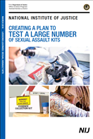 Image for Creating a Plan to Test a Large Number of Sexual Assault Kits