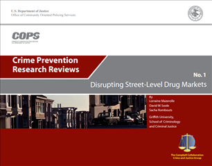 Image for Crime Prevention Research Review: Disrupting Street-Level Drug Markets