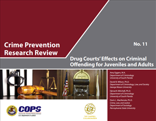 Image for Crime Prevention Research Review  Drug Court's Effects on Criminal Offending for Juveniles and Adults