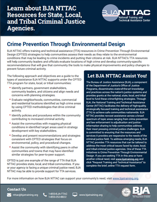Image for Crime Prevention Through Environmental Design (CPTED)