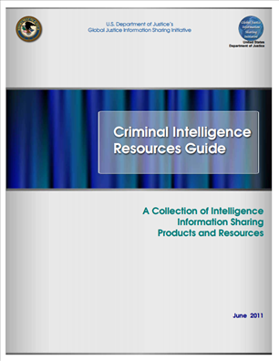 Image for Criminal Intelligence Resources Guide