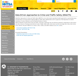 Image for Data-Driven Approaches to Crime and Traffic Safety (DDACTS)