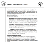 Image for HHS Administration for Children & Families: Labor Trafficking Fact Sheet