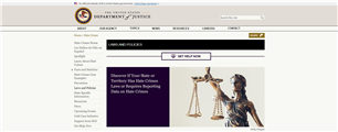Image for Federal and State Hate Crime Laws and Statutes