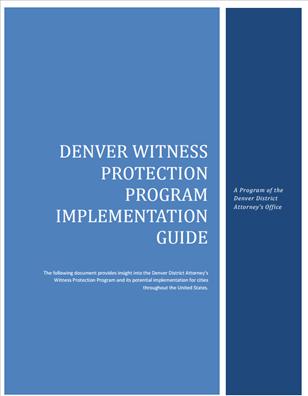 Image for Denver Witness Protection Implementation Guide
