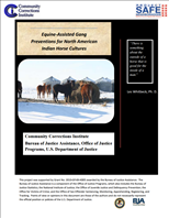 Image for Equine-Assisted Gang Preventions for North American Indian Horse Cultures