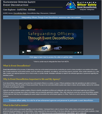 Image for Event Deconfliction Systems