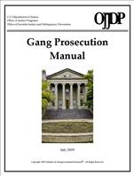 Image for Gang Prosecution Manual