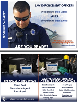 Image for Active Shooter/Mass Casualty Go-Bag Visor Card