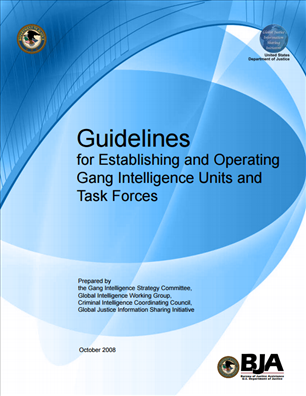 Image for Guidelines for Establishing and Operating Gang Intelligence Units and Task Forces