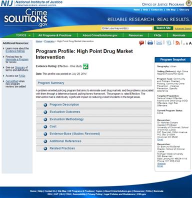 Image for High Point Drug Market Intervention