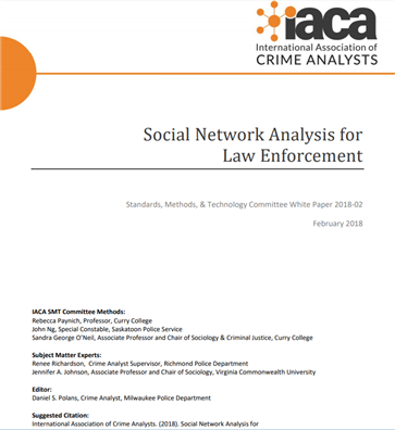 Image for Social Network Analysis for Law Enforcement