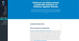 Image for National Law Enforcement First-Line Supervisor Training on Violence Against Women