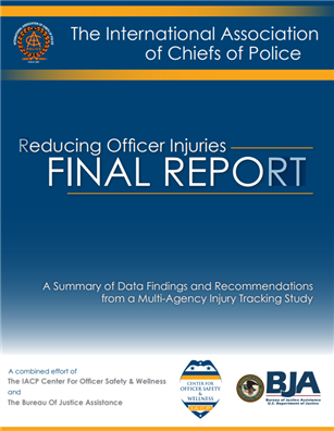 Image for Reducing Officer Injuries Final Report