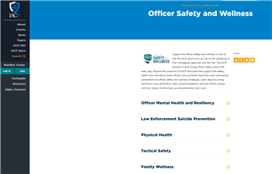 Image for Officer Safety and Wellness - IACP Resources