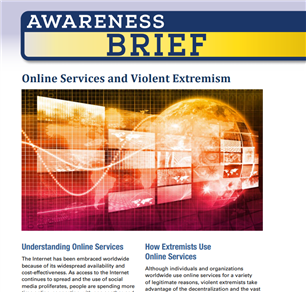 Image for Awareness Brief: Online Services and Violent Extremism
