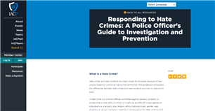 Image for Responding to Hate Crimes: A Police Officer's Guide to Investigation and Prevention
