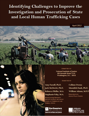 Image for Identifying Challenges to Improve the Investigation and Prosecution of State and Local Human Trafficking Cases