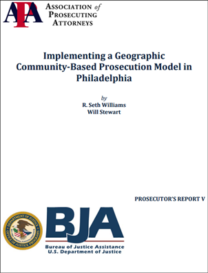 Image for Implementing a Geographic Community-Based Prosecution Model in Philadelphia
