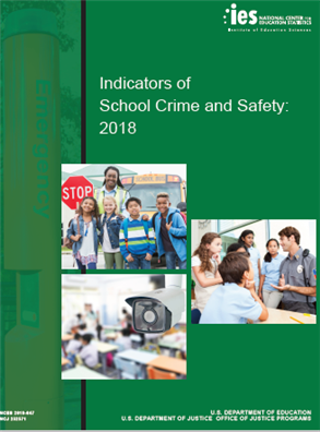 Image for Indicators of School Crime and Safety: 2018
