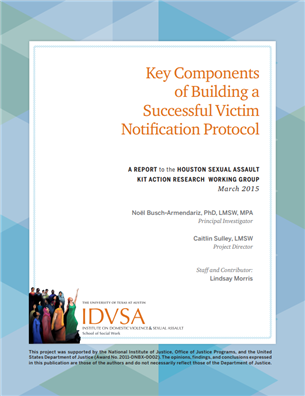 Image for Key Components of Building a Successful Victim Notification Protocol