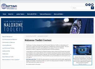 Image for Law Enforcement Naloxone Toolkit