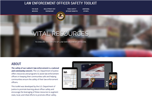 Image for Law Enforcement Officer Safety Toolkit