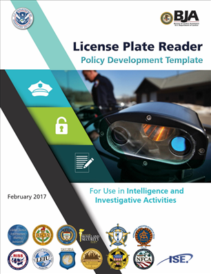 Image for License Plate Reader Policy Development Template for Use in Intelligence and Investigative Activities
