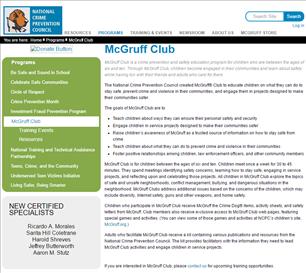 Image for McGruff Club