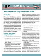 Image for Multidisciplinary Gang Intervention Teams