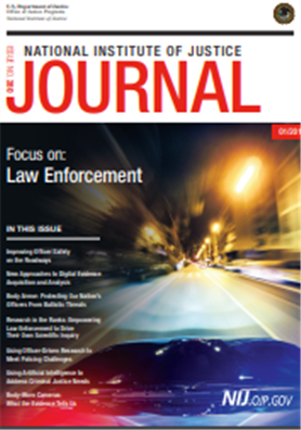 Image for NIJ Journal, Issue 280